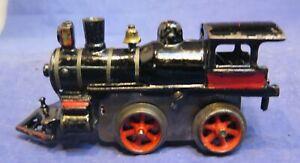 IVES Early Prewar O Gauge No. 11 Cast Iron Clockwork Steam Locomotive! CT