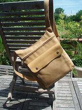 sac à dos en toile et cuir beige LONGCHAMP