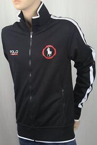 Ralph Lauren Sport Performance Black Full Zip Track Jacket NWT $135