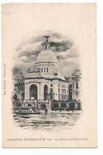 PARIS , EXPOSITION UNIVERSELLE 1900 , LE PALAIS DES ETATS-UNIS