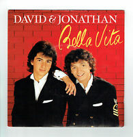 "DAVID & JONATHAN 45T 7"" BELLA VITA - IN MY HEART - SEFRA MUSIC 2014847 + Texte"