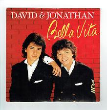 "DAVID & JONATHAN 45T 7"" BELLA VITA - IN MY HEART - SEFRA MUSIC 2014847 + Texte"