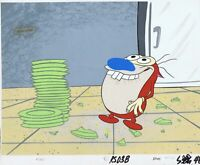 Ren & Stimpy Original 1990's Production Cel Animation Art Salve