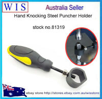 Hand Knocking Steel Puncher Holder.Stamp Holding Tool,Seal Hand Safety Handle