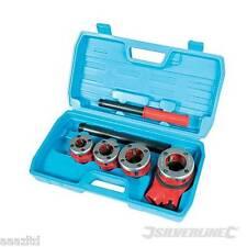 BSP PIPE THREADING KIT thread set steel tube water 5pc kit