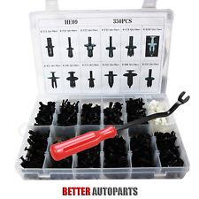 350pcs Auto Car Push Retainer Pin Rivet Trim Clip Panel Moulding Kit +Tool(Fits: Alfa Romeo)