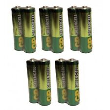 10X GP GreenCell Heavy Duty Industrial AAA Batteries LR03 Battery Flash Torch