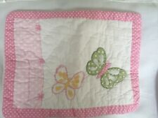 Pottery Barn Kids Camille Butterfly Toddler Pillow Sham 12 X 16 Nwot Nla
