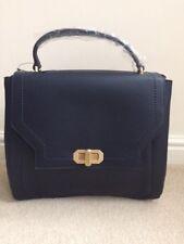 Next Women Blue Tote Bag with Detachable Shoulder Strap - BNWT
