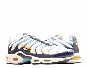 Nike Air Max Plus White/Navy Chargers Men's Running Shoes CT1094-100