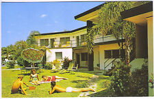 South Clearwater Beach FL Sand's Point Motel Radio Old Cars Vintage Postcard