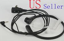 Throat Mic Earpiece/Headset For Motorola Radio Walkie Talkie T8000 T8500 T8550