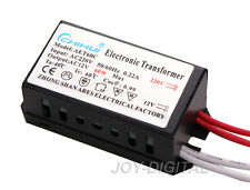Electronic Transformer for Halogen Led Light Lamp AC 12V 60W Power Supply Driver