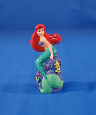 "Little Mermaid Ariel 3"" PVC Figurine Cake Topper Disney Store"