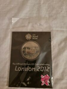 The Royal Mint The Official Olympic £5 Coin Celebrating London 2012