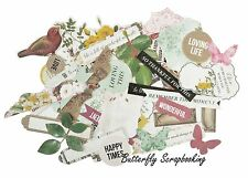 BE YOU TIFUL Collectables Collection Scrapbooking 50 Die Cuts Kaisercraft NEW