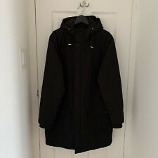 Dr Denim Parka Coat / Jacket Large L (Urban Outfitters / Black / Warm)