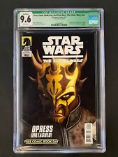Free Comic Book Day and Star Wars: The Clone Wars #nn CGC 9.6 Q (2011) - STAMPED