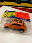 Hotwheels Red Line Custom Volkswagen Bug Orange No Sunroof Wisconsin Toy Company