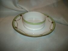 Vintage Hand Painted Nippon Gold Trimmed Serving Condiment Dish 6 3/4 inches