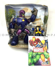 MARVEL Legends Universe Sentinel & Unmasked Wolverine Super Hero Squad Figure