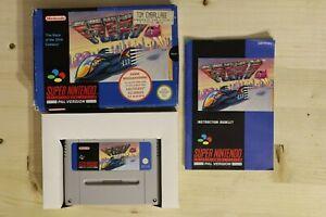 F-Zero UKV OVP/CIB boxed Super Nintendo SNES