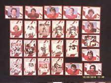Lot of 25 1989 Collegiate Collection Alabama Crimson Tide Football Trading Cards