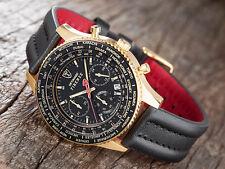 DETOMASO Firenze MEN'S Watch Chronograph in acciaio inox placcato oro nero (25)