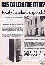Publicité Advertising 106 1968 Idéal Standard chaudière au gaz