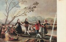 """*Scenic Postcard--ART--""""The 2 Dancing Couples...While Others Watch/"""