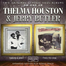 Thelma Houston & Jerry Butler - Thelma & Jerry / Two To One   new cd
