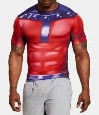 Men's Under Armour Alter Ego X-Men Compression Short Sleeve 1253880 601 M & 2XL