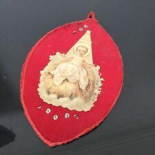 Grand Scapulaire Agnus Dei Ancien Reliquaire XIXè HOLY CARD Reliquary 19thC