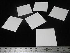 "THIN SQUARE 4"" X 4""  ALUMINA CERAMIC SUBSTRATE SHEET PLATE SETTER  No.: 506"