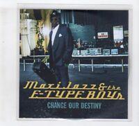 (IH269) Maxi Jazz & The E-Type Boys, Change Our Destiny - DJ CD