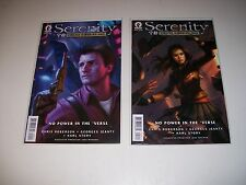 Serenity:No Power In The 'Verse #1 2 3 4 5 6 1-6 Dos Santos Covers Firefly