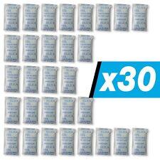 30 x 10 g E-Cron Silikagel-Päckchen. Luftentfeuchter- Beutel mit Silikagel