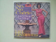 Lill Lindfors - No, no, cherie/ Don't stop the slop 7'' Single