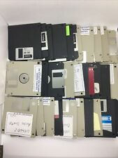 "30 RECYCLED Black TDK brand 3.5"" Floppy Disks 1.44MB DS/HD Reformatted Tested"