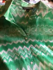 Women's The Clothing Company Cotton Tunic  Shirt/Blouse Size 14 VGUC