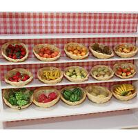 10stk 1/12 Puppenhaus Miniature Simulation Obst Model Mango Mangostan Geschenk