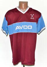WEST HAM UNITED 1983/1985 HOME FOOTBALL SHIRT SCORE DRAW SIZE L RETRO REPLICA