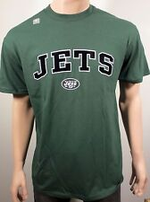 NEW York Jets Felted Graphic Stitched Appliqué Logo S/S Green T Shirt 2XL NWOT