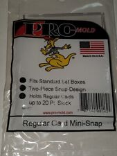 Snap Card Holders - Standard, Thicker, Super Thick, Pre-1957 - Trading Supplies