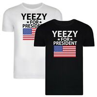 Yeezy Flag 2020 T-Shirt Kanye for President Adults T Shirt