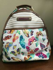 NWT LILY BLOOM Chantal Backpack Bag Purse Butterfly Twister ECO Recycled