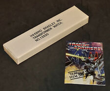 SEALED New Unopened 1984 Transformers TIME WARRIOR Watch Mailaway Hasbro Bradley