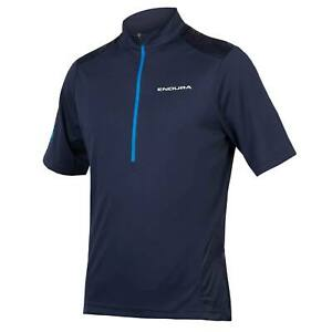 Endura Hummvee S/S Jersey Short Sleeve Mens, Navy, Small *ONLY*