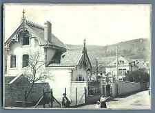 France, Propriété de Mr. André à Le Val-d'Ajol  Vintage silver print. Régio