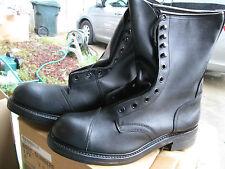 """Usgi Surplus Climber Boots 10"""" Biltrite Sole Steel Toe Nib 5Xn"""